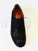 Туфли женские на шнурке змея Kento 22643, фото 3