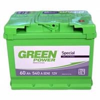 Автомобильный аккумулятор Green Power 6СТ-60 Aз