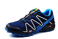 Кроссовки мужские GoFin Speedcross 3, темно-синие, фото 1