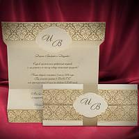 Свадебные пригласительные цвета айвори, приглашения на свадьбу с печатью текста