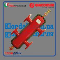 Гидравлический сепаратор Giacomini (гидрострелка в изоляции) 1Х1/4