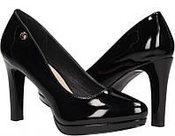 Туфли женские на платформе и устойчивом каблуке