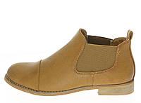 Бежевые ботинки на осень для женщин