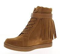 Женские ботинки, сникерсы на платформе