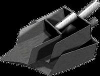Комплект лопат для отбора проб угля
