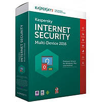 Антивирус Kaspersky Internet Security 2016 Multi-Device 1 + 1 ПК 1 год Renewal Car (KL1941OOAFR16)