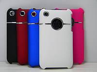 Чехлы для iPhone 3G 3GS с хромированной вставкой, фото 1