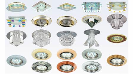 Потолочные светильники софиты