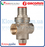 Giacomini редуктор давления PN16 поршневой 1/2