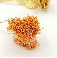 Тычинки на нитке оранж