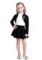 Костюм черный юбка+болеро