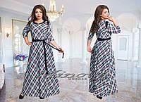Платье длинное большого размера 52-58