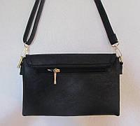 Черный клатч женский небольшой, фото 1