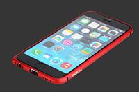 """Металлический бампер Rock Arc Slim Guard для Apple iPhone 6/6s (4.7"""") Красный / Red"""