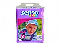 Підгузки дитячі 70 шт midi (4 9кг) № 3 TM Senso Baby (код 396079)