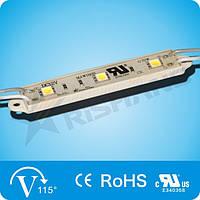 Светодиодный модуль, 0,72W белый (White) SMD5050 LED (3 LED) IP65 M133AA (w) 6550-6905