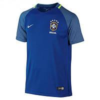Футбольная форма Сборной Бразилии ЕВРО 2016 Выездная