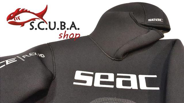 Гидрокостюм для подводной охоты Seac Sub Race Flex HD 7 мм