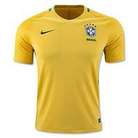Футбольная форма Сборной Бразилии ЕВРО 2016 Домашняя
