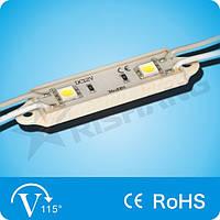 Светодиодный модуль, 0,48W White SMD5050 LED (2 LED) IP65