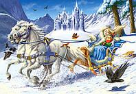 Пазл Снежная королева 120 деталей midi В-12589
