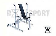 Скамья для жима RN-Sport 3090 со стойками для приседаний