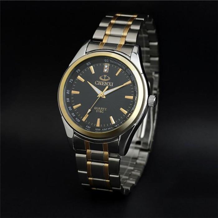 Мужские часы Chenxi с черным циферблатом