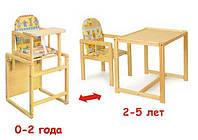 Универсальный стульчик для кормления ( стул трансформер)