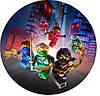 Ниндзяго Лего 20 Вафельная картинка