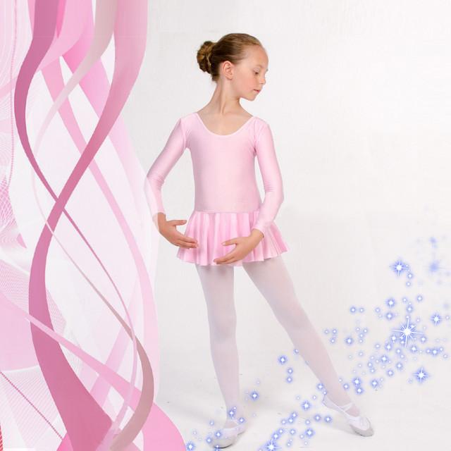 Купальники с юбкой для гимнастики и танцев