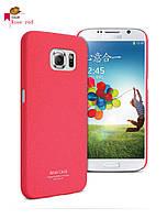 Пластиковая накладка IMAK Cowboy series для Samsung Galaxy S6 G920F/G920D Duos             Красный