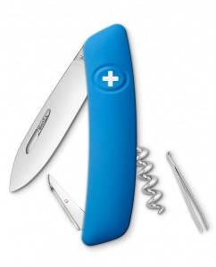Перочинный швейцарский нож, 4 предмета SWIZA D01 (101030), синий