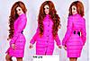 Пальто +на синтепоне женское. Пальто бантик 590  (29)