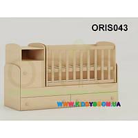 Кроватка-трансформер для новорожденного Marica Oris-mebel ORIS043