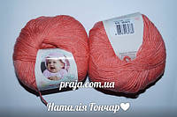 Alize Baby wool  - 619 коралловый
