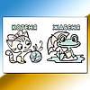 Глорія Водяні розмальовки Качка, фото 2