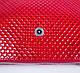Оригинальная женская кожаная мини-сумка KARYA (КАРИЯ) SHI521-1KAP (красный), фото 7