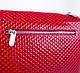 Оригинальная женская кожаная мини-сумка KARYA (КАРИЯ) SHI521-1KAP (красный), фото 8