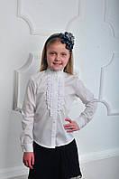 Симпатичная школьная блуза для девочки