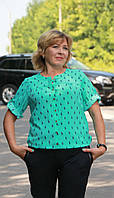 Женская блузка Marco Polo мятного цвета