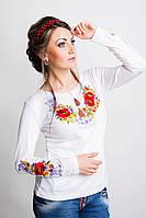 Трикотажная женская вышиванка