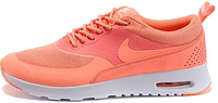 "Женские кроссовки Nike Air Max Thea ""Atomic Pink/White"" (найк аир макс) коралловые"
