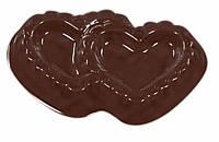"Форма для шоколада ""Два сердца"" Martellato 90-1021"