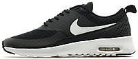 Женские кроссовки Nike Air Max Thea Black (найк аир макс) черные