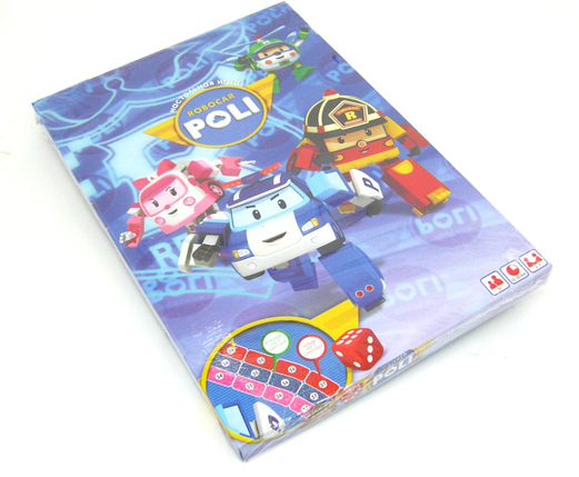 DankoToys Настольная маленькая Робокар Поли Robocar Poli 3+ 2-3 игрока, фото 2