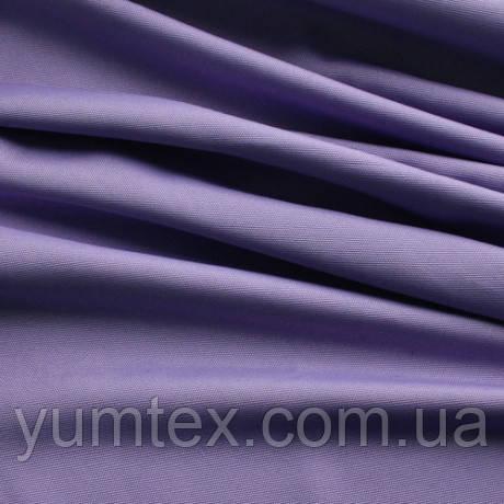 Однотонная ткань панама Песко, 60 % хлопок, цвет лаванда