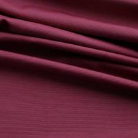 Однотонная ткань панама Песко, 60 % хлопок, цвет бургунди