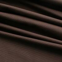 Однотонная ткань панама Песко, 60 % хлопок, цвет кофе