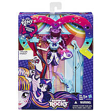 Кукла Твайлайт Спаркл My Little Pony Equestria Girls Rainbow Rocks Twilight Sparkle Rockin' Hairstyle Doll
