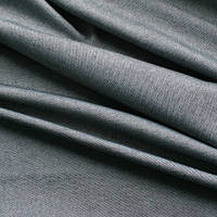Однотонная ткань панама Песко, 60 % хлопок, цвет сливовый